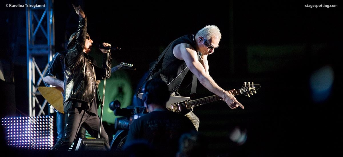 Scorpions 2010 Thessaloniki photo by Tsirogianni Karolina